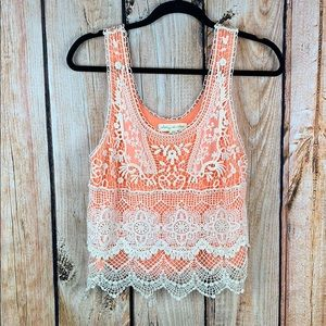 Urban Outfitters • Crochet Tank